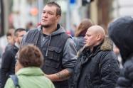 """""""Scorpio Security"""" für FPÖ auf der Mariahilfer Straße"""