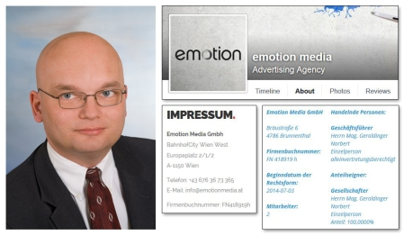 Norbert Geroldinger der Emotion (sic!) Media GmbH