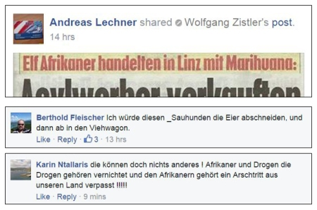 Kommentar bei Mein Österreich - daher FPÖ_M
