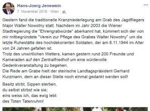 Hans-Jörg Jenewein 7.11.2016