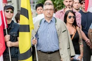 Manfred W. Platschka IDIs 27.7.2016 Wien_re daneben Freundin von Andre Emmanuel Rauch und er selbstE53I0525